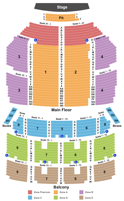 Orpheum Theatre Nick Offerman Seating Chart